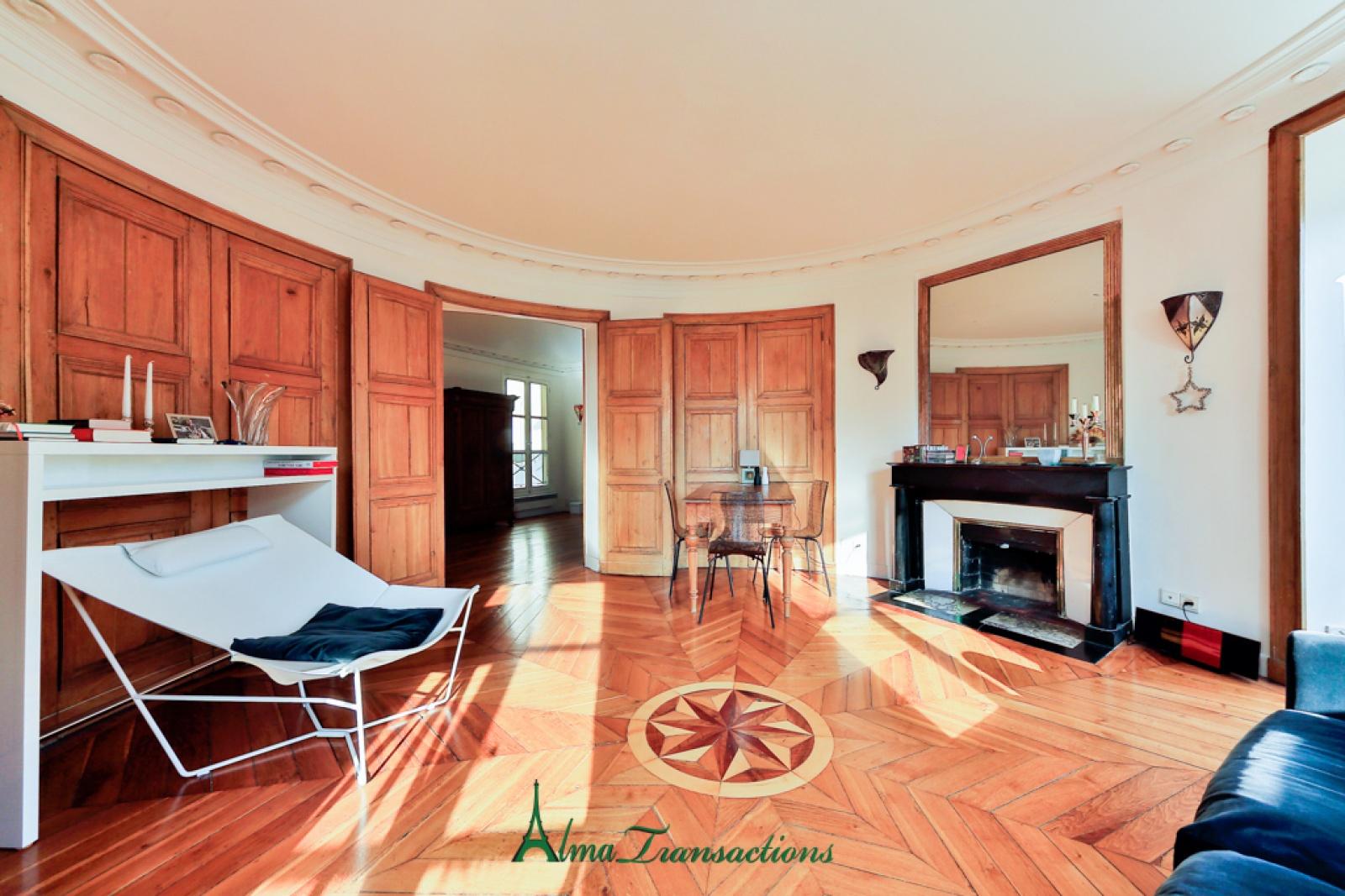 appartement 4 pi ces paris vi. Black Bedroom Furniture Sets. Home Design Ideas